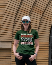 BUILT IN THE SEVENTIES Ladies T-Shirt lifestyle-women-crewneck-front-4