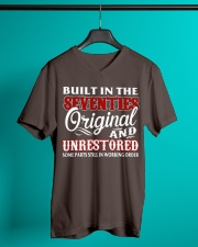 BUILT IN THE SEVENTIES V-Neck T-Shirt lifestyle-mens-vneck-front-3