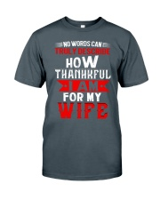 THANKFUL WIFE Classic T-Shirt front