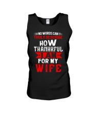 THANKFUL WIFE Unisex Tank thumbnail