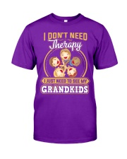 GRANDKID THERAPY Classic T-Shirt front