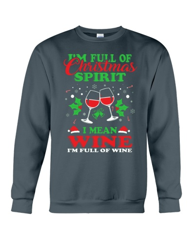 CHRISTMAS TEE FOR WINE LOVERS