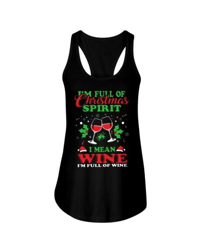 CHRISTMAS TEE FOR WINE LOVERS