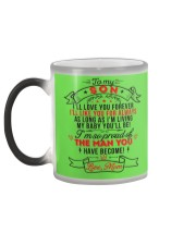 TO MY SON - LOVE MOM Color Changing Mug color-changing-left