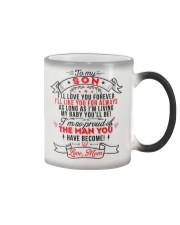 TO MY SON - LOVE MOM Color Changing Mug thumbnail