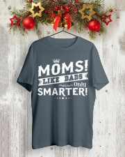 ONLY SMARTER Classic T-Shirt lifestyle-holiday-crewneck-front-2