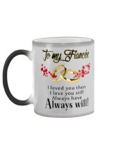 TO MY FIANCEE Color Changing Mug color-changing-left