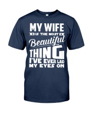 BEAUTIFUL WIFE Classic T-Shirt front