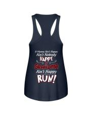 GRANDMA AIN'T HAPPY - RUN Ladies Flowy Tank thumbnail