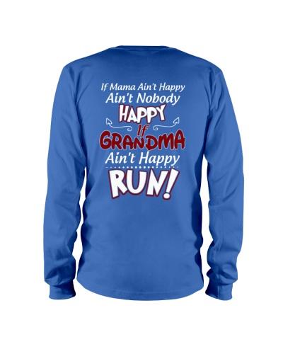 GRANDMA AIN'T HAPPY - RUN