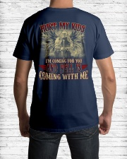 HELL IS COMING WITH ME Classic T-Shirt lifestyle-mens-crewneck-back-1