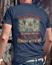 HELL IS COMING WITH ME Classic T-Shirt lifestyle-mens-crewneck-back-2
