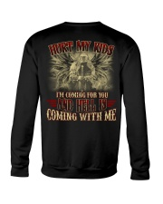 HELL IS COMING WITH ME Crewneck Sweatshirt thumbnail