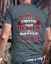 MY WIFE Classic T-Shirt lifestyle-mens-crewneck-back-2