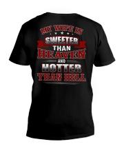 MY WIFE V-Neck T-Shirt thumbnail