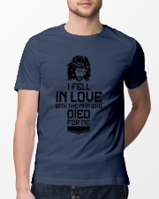 I FELL IN LOVE Classic T-Shirt lifestyle-mens-crewneck-front-13