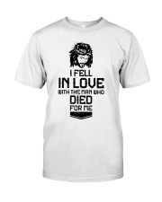 I FELL IN LOVE Premium Fit Mens Tee thumbnail