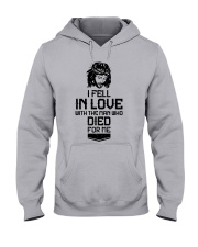 I FELL IN LOVE Hooded Sweatshirt thumbnail