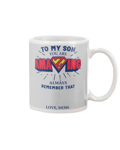 MY SON - LOVE MOM