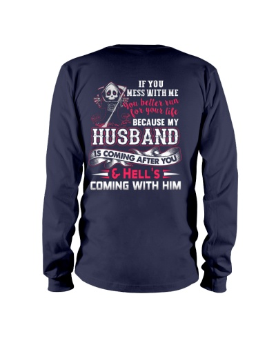 MY HUSBAND IS COMING AFTER YOU