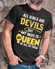 MY WIFE Classic T-Shirt lifestyle-mens-crewneck-front-4