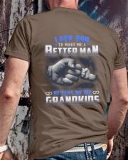 MY GRANDKIDS Classic T-Shirt lifestyle-mens-crewneck-back-2