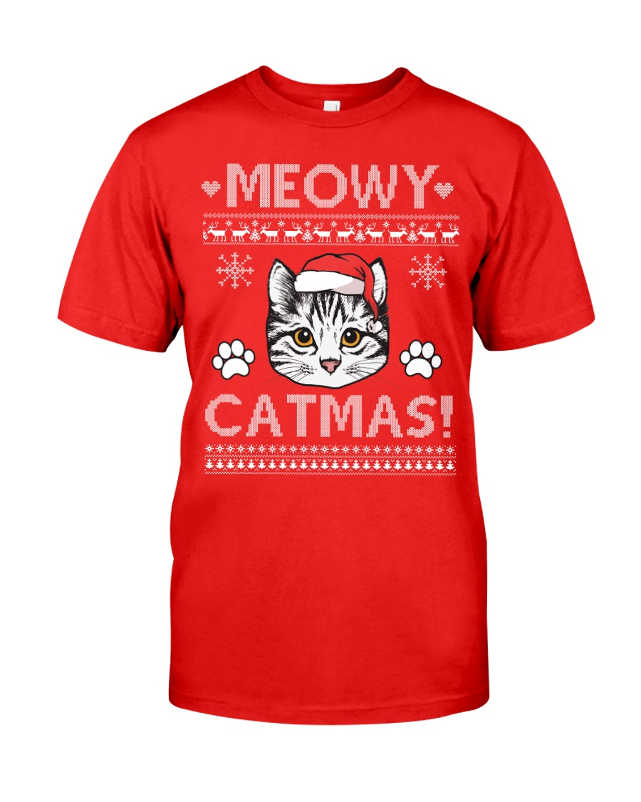 MEOWY CATMAS Classic T-Shirt