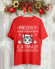 MEOWY CATMAS Classic T-Shirt lifestyle-holiday-crewneck-front-2