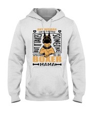 BOXER MAMA Hooded Sweatshirt thumbnail