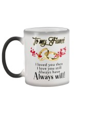 TO MY FIANCE Color Changing Mug color-changing-left