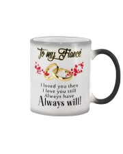 TO MY FIANCE Color Changing Mug color-changing-right