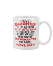 TO MY DAUGHTER - LOVE DAD Mug thumbnail