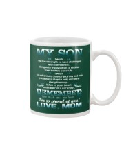 TO MY SON - PROUD OF YOU Mug front