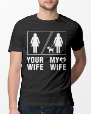 MY WIFE Classic T-Shirt lifestyle-mens-crewneck-front-13