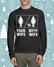 MY WIFE Long Sleeve Tee lifestyle-holiday-longsleeves-front-1