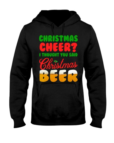 CHRISTMAS TEE FOR BEER LOVERS