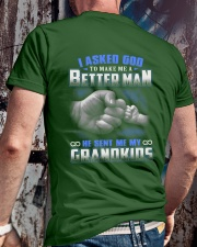 MY GRANDKIDS Classic T-Shirt lifestyle-mens-crewneck-back-2