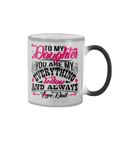 TO MY DAUGHTER - DAD