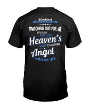 THE MOST BEAUTIFUL ANGEL Classic T-Shirt back