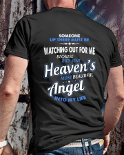 THE MOST BEAUTIFUL ANGEL Classic T-Shirt lifestyle-mens-crewneck-back-2