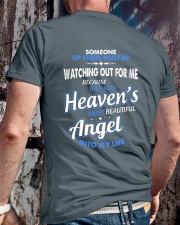THE MOST BEAUTIFUL ANGEL Classic T-Shirt lifestyle-mens-crewneck-back-2