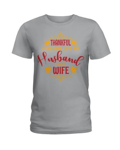 TSHIRT - WIFE - COUPLE THANKFUL
