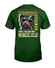 PUG - PERSONAL STALKER Classic T-Shirt back