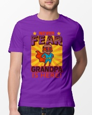 GRANDPA IS HERE Classic T-Shirt lifestyle-mens-crewneck-front-13