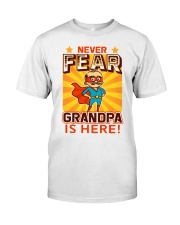 GRANDPA IS HERE Premium Fit Mens Tee thumbnail