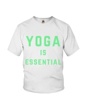 Yoga is Essential Youth T-Shirt thumbnail