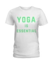 Yoga is Essential Ladies T-Shirt thumbnail