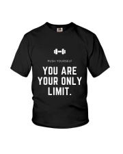Push Yourself Youth T-Shirt thumbnail