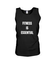 Fitness is Essential Unisex Tank front