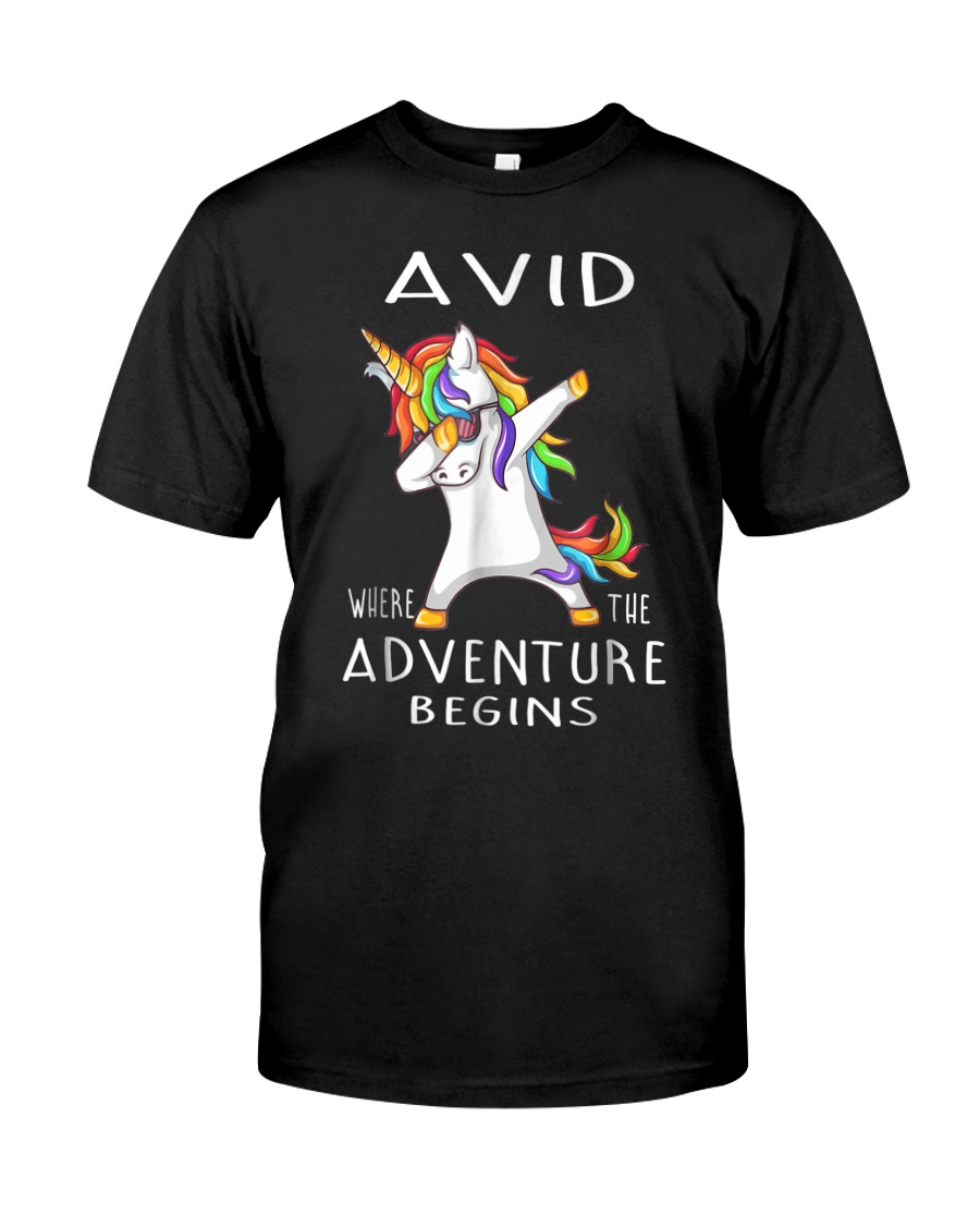 Avid Where The Adventure Begins Shirt Classic T-Shirt